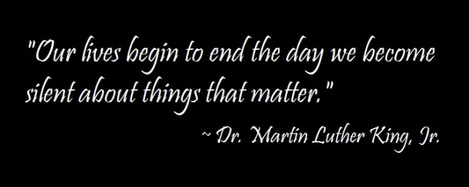 MLK Lives Quote