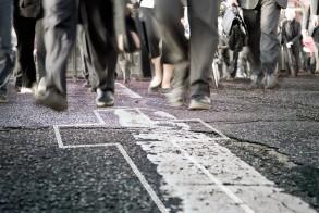 Chalk outline - cross
