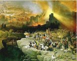 The Siege and Destrucion of Jerusalem. David Roberts, 1850