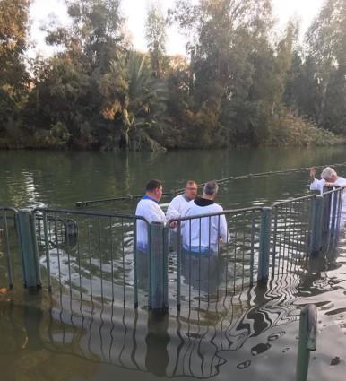 Baptismal in the Jordan