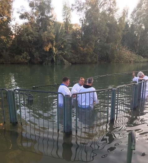 Baptismal in the Jordan