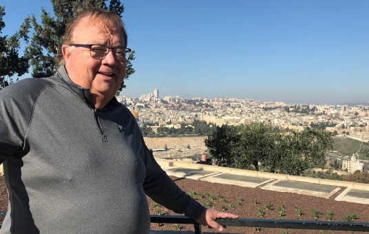 Overlooking Jerusalem